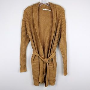 UO Kimchi Blue | Burnt Orange Knit Cardigan - A19